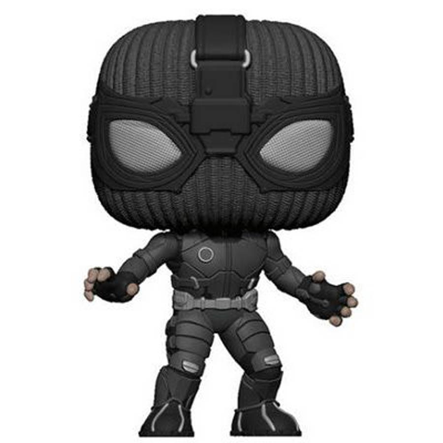 POP Movies Spider-Man Far From Home Spider-Man Stealth Suit Vinyl Figure