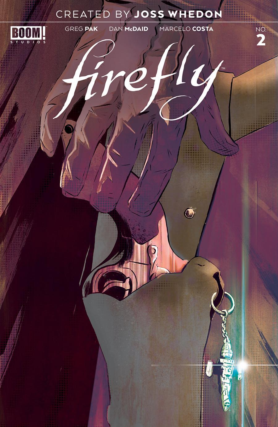 Firefly #2 Cover H 3rd Ptg Variant Lee Garbett Cover