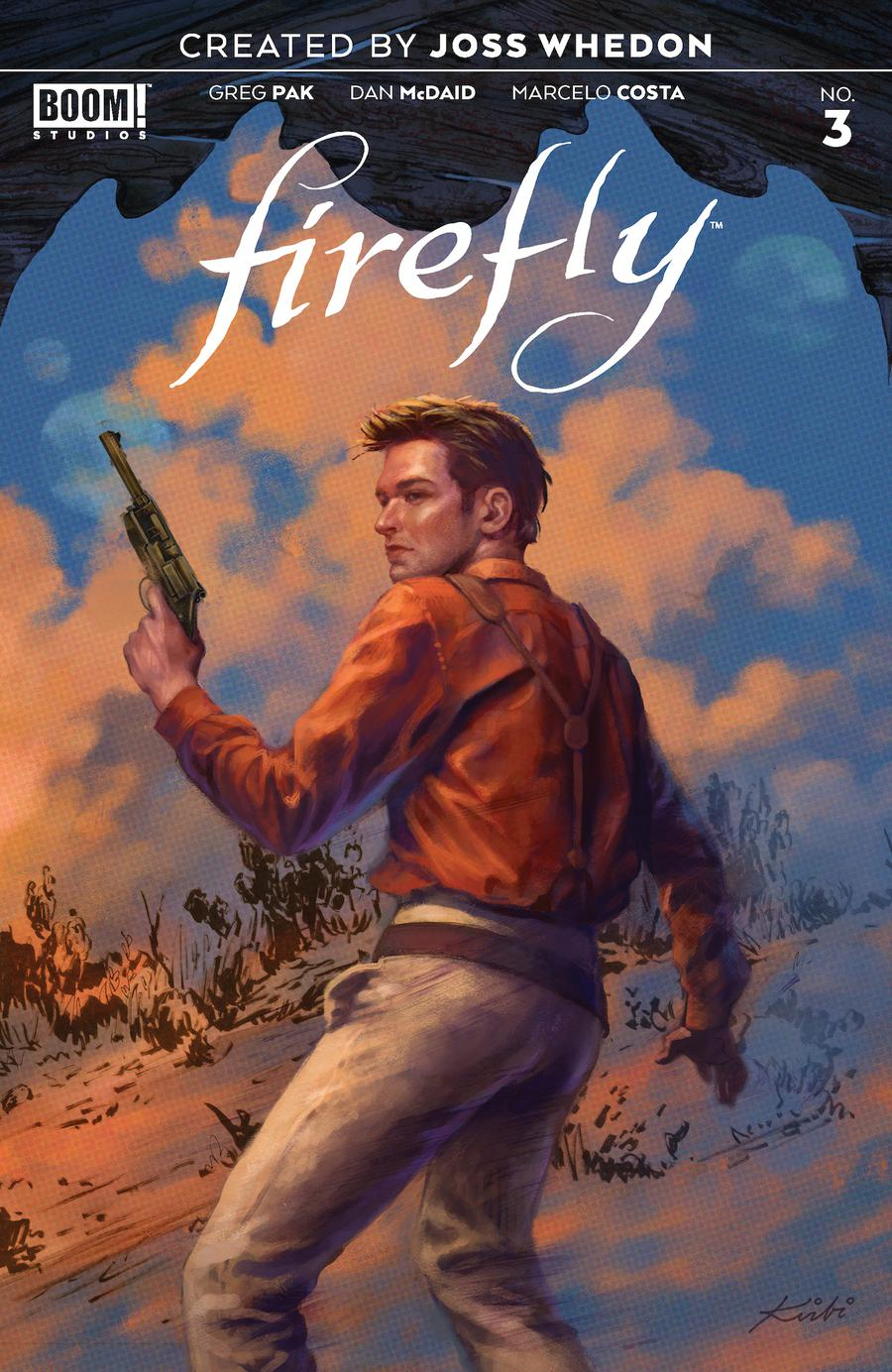 Firefly #3 Cover G 2nd Ptg Variant Kirbi Fagan Cover