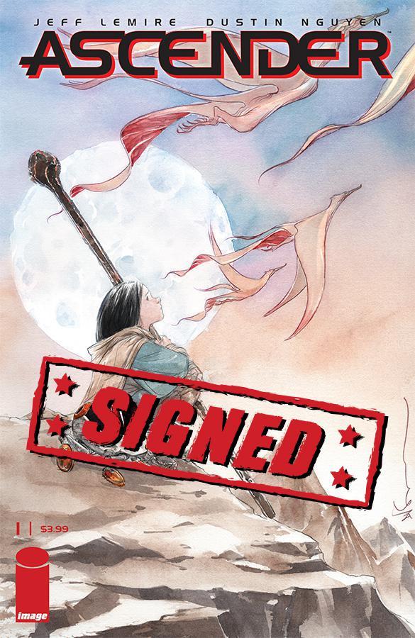 Ascender #1 Cover B Signed By Jeff Lemire & Dustin Nguyen