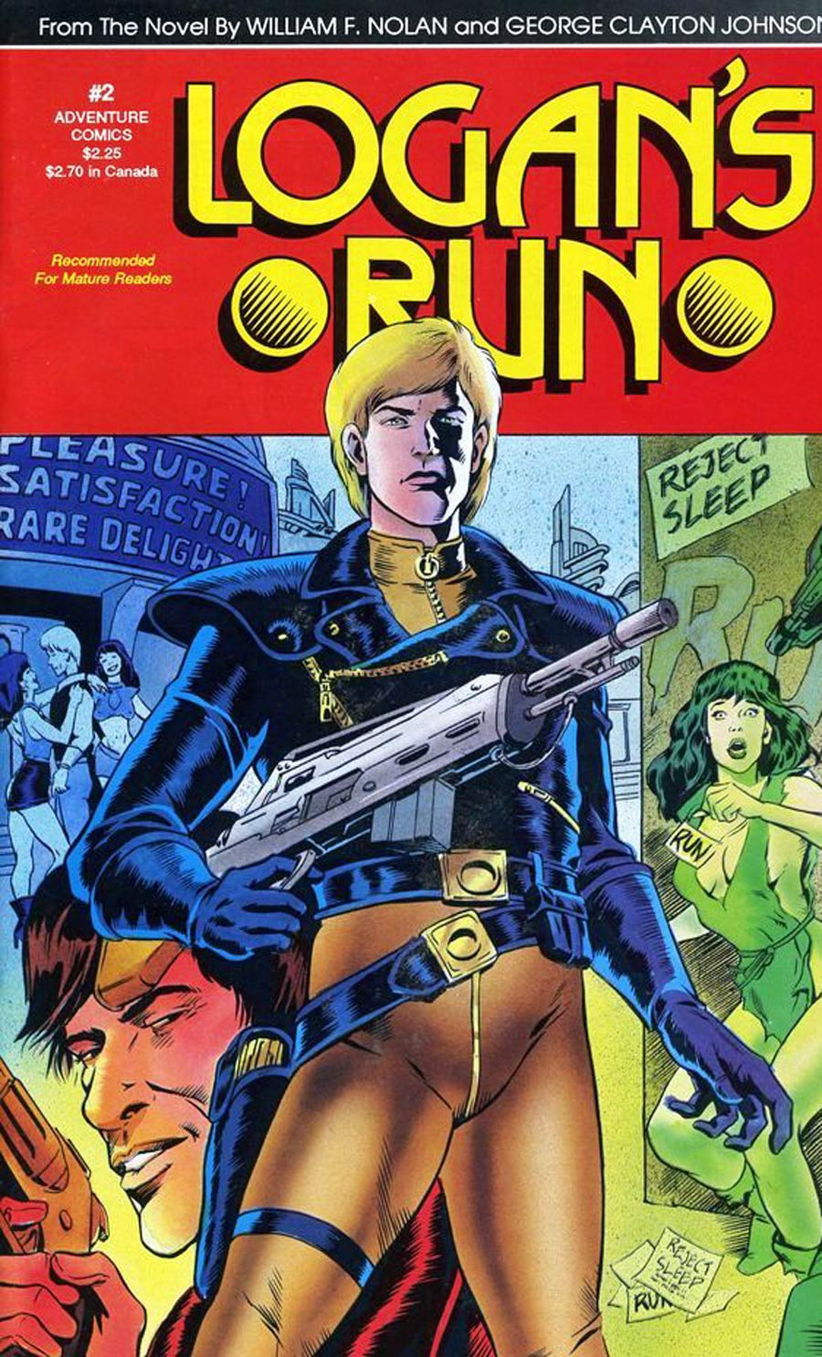 Logans Run (Adventure Comics) #2