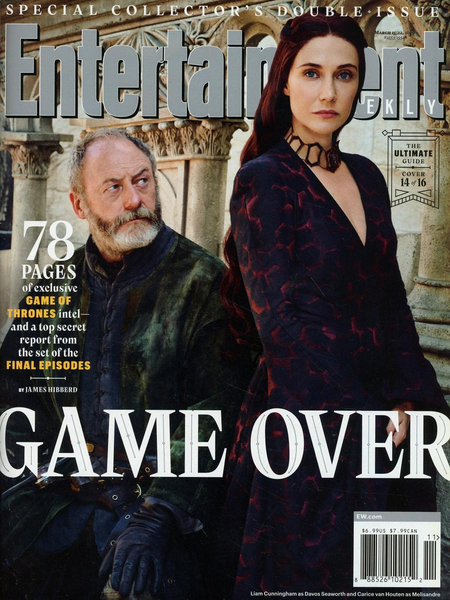 Entertainment Weekly #1553 /1554 March 15 / 22 2019