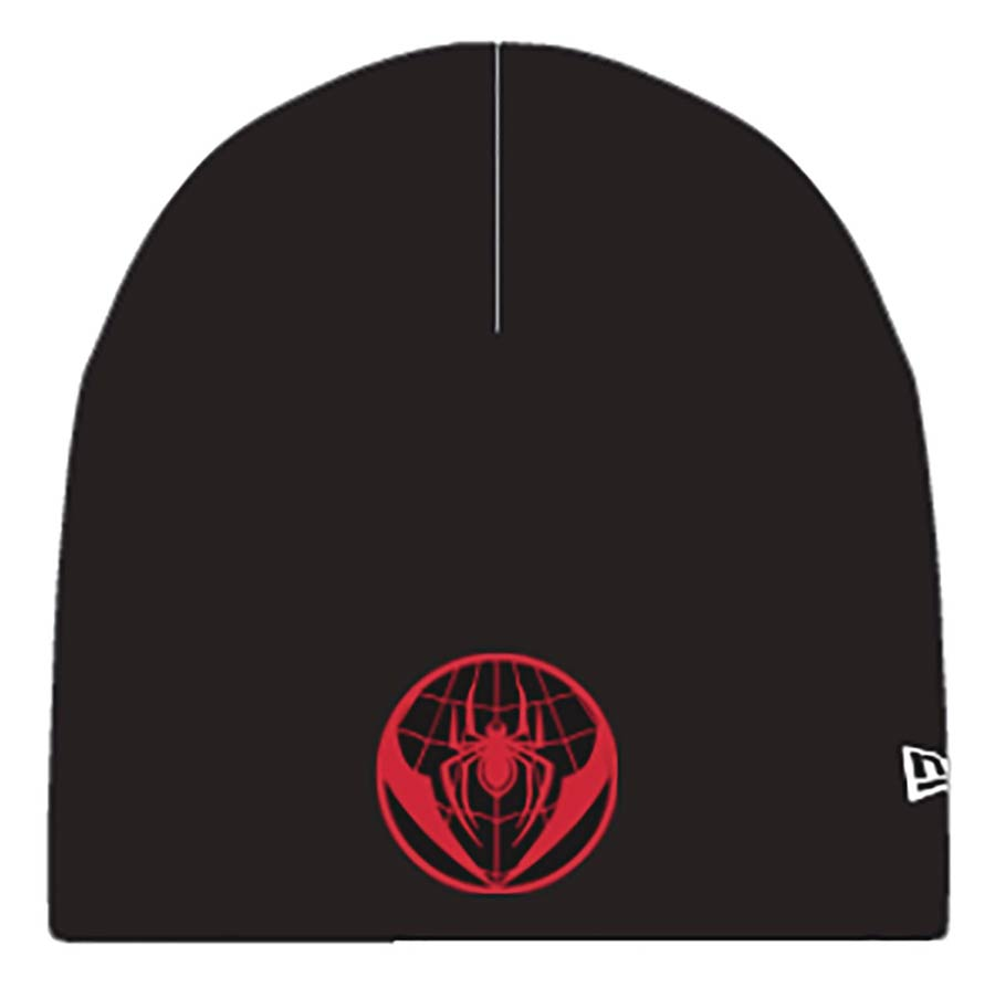 Spider-Man Miles Morales Symbol Previews Exclusive Knit Beanie