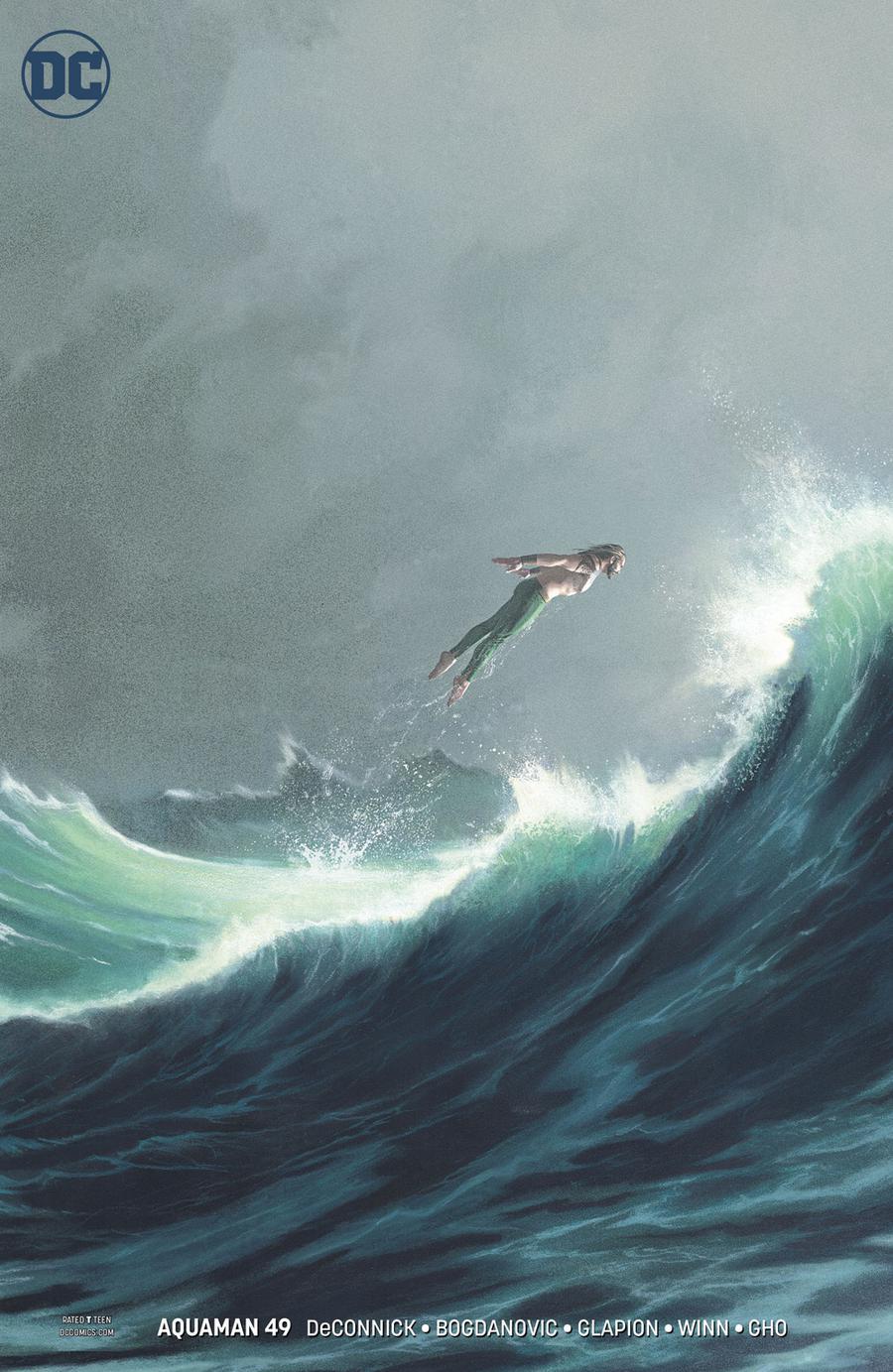 Aquaman Vol 6 #49 Cover B Variant Joshua Middleton Cover