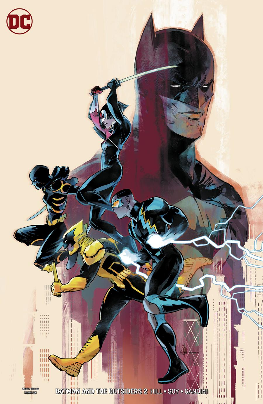 Batman And The Outsiders Vol 3 #2 Cover B Variant Otto Schmidt Cover