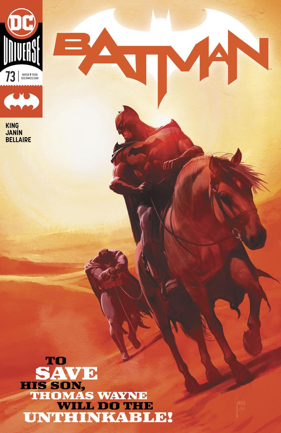 Batman Vol 3 #73 Cover A Regular Mikel Janin Cover