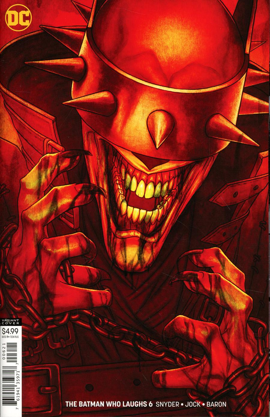Batman Who Laughs #6 Cover B Variant Jenny Frison Cover