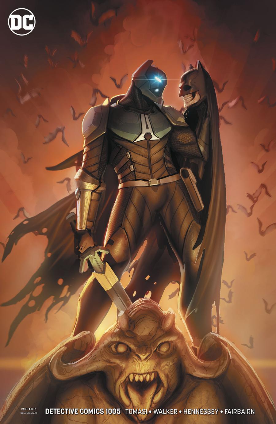 Detective Comics Vol 2 #1005 Cover B Variant Stjepan Sejic Cover
