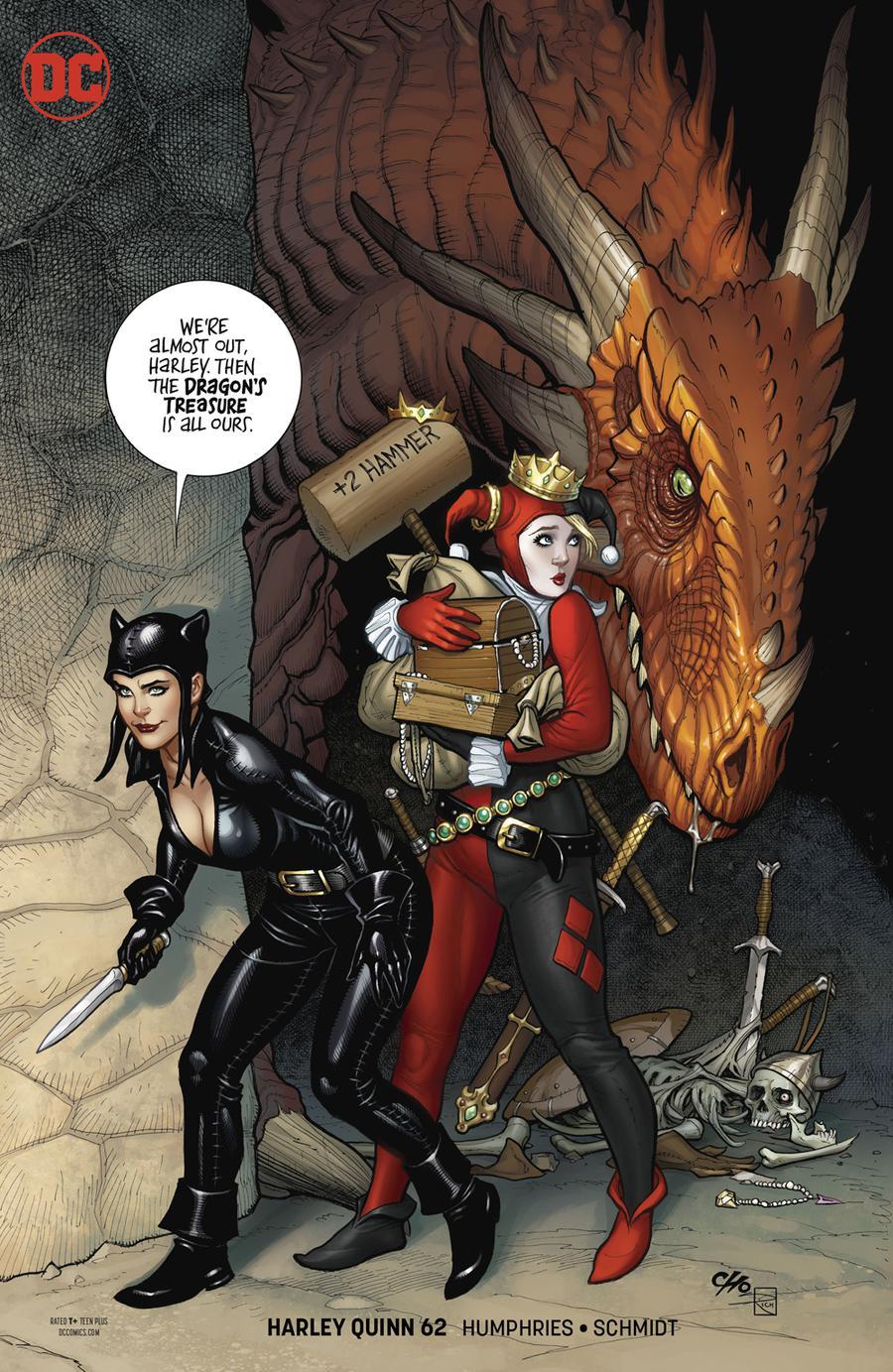 Harley Quinn Vol 3 #62 Cover B Variant Frank Cho Cover