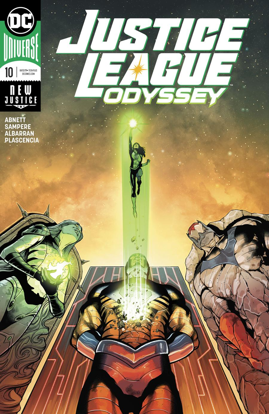Justice League Odyssey #10 Cover A Regular Daniel Sampere Cover