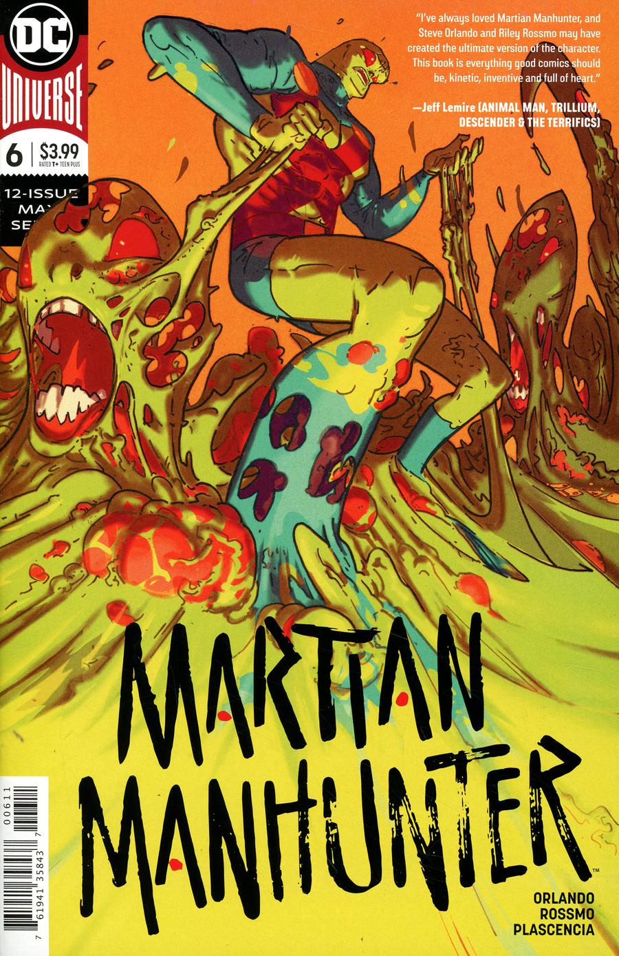 Martian Manhunter Vol 5 #6 Cover A Regular Riley Rossmo Cover