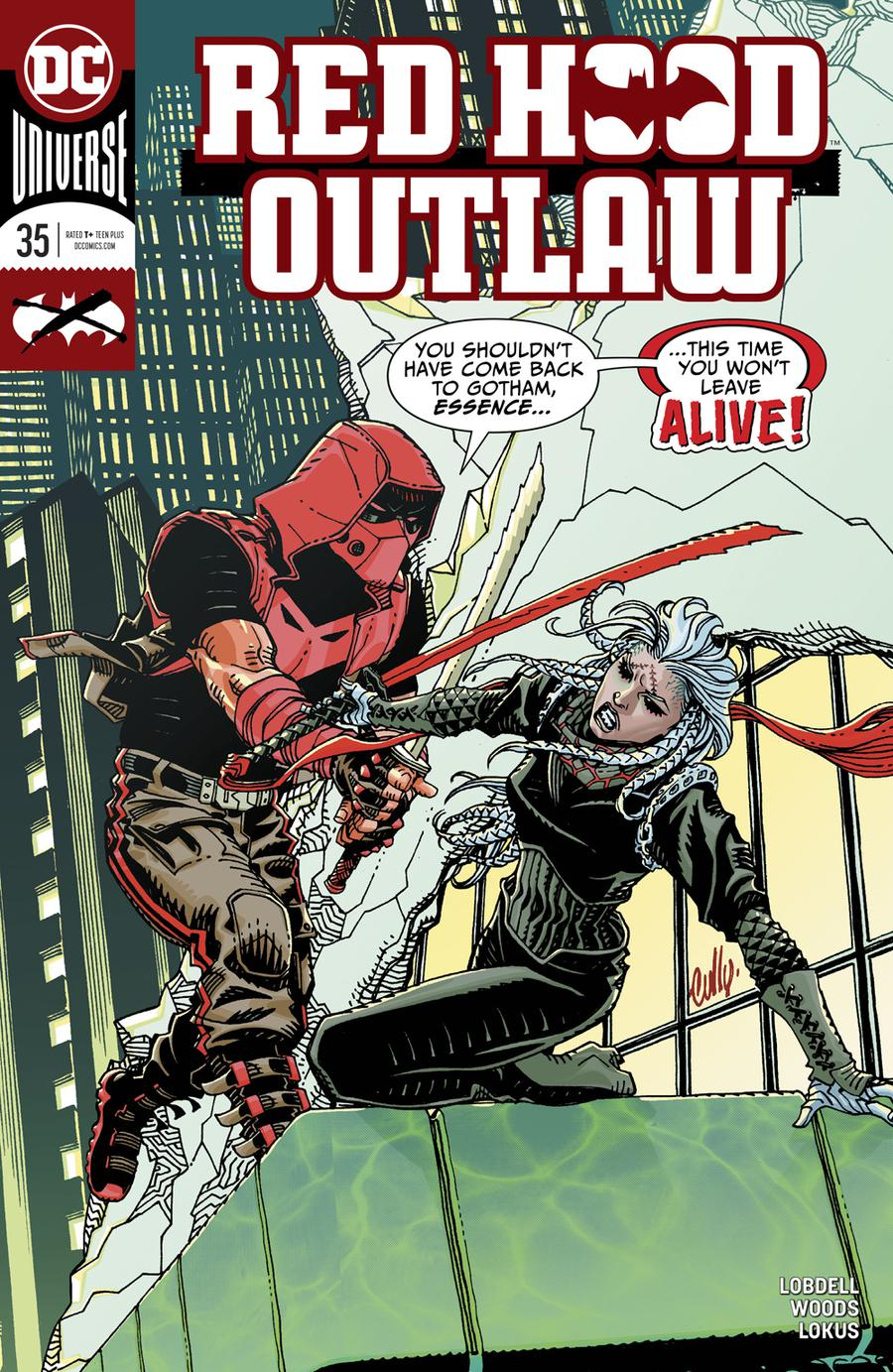 Red Hood Outlaw #35 Cover A Regular Cully Hamner Cover