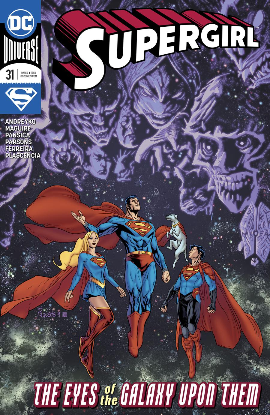 Supergirl Vol 7 #31 Cover A Regular Yanick Paquette Cover