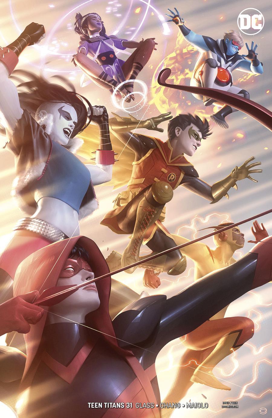 Teen Titans Vol 6 #31 Cover B Variant Alex Garner Cover