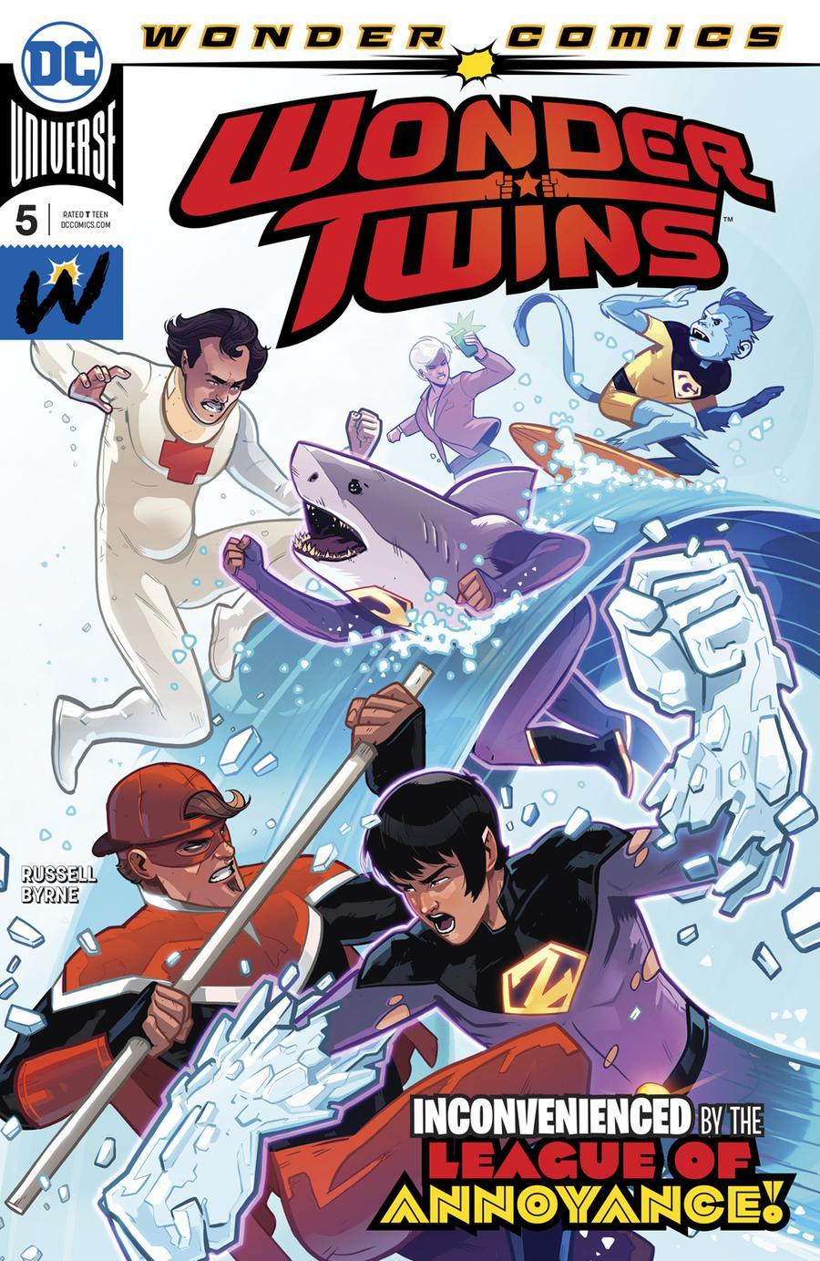 Wonder Twins #5 Cover A Regular Stephen Byrne Cover
