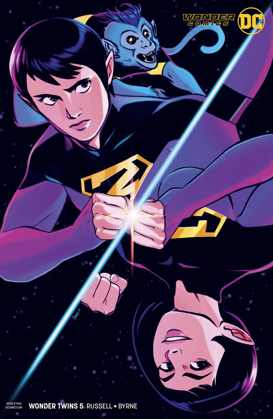 Wonder Twins #5 Cover B Variant Stacey Lee Cover