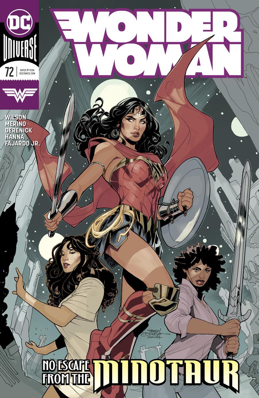 Wonder Woman Vol 5 #72 Cover A Regular Terry Dodson & Rachel Dodson Cover