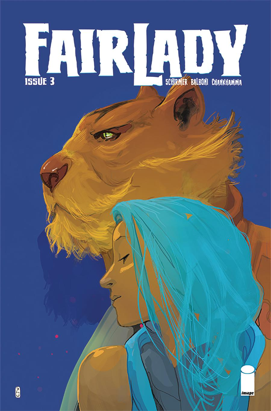 Fairlady #3 Cover B Variant Christian Ward Cover