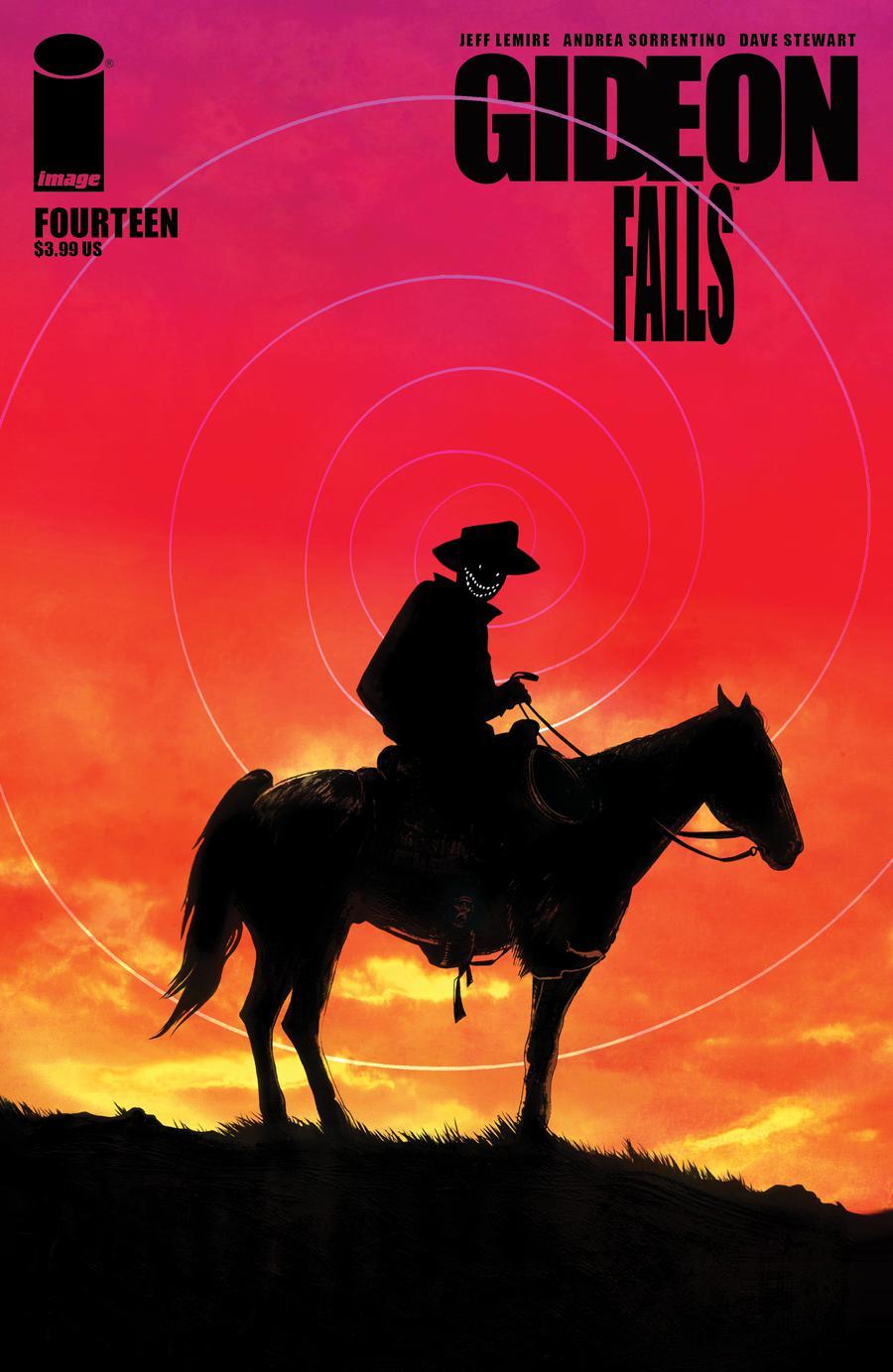 Gideon Falls #14 Cover B Variant Veronica Fish Cover