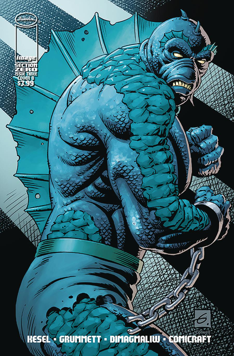 Section Zero Vol 2 #3 Cover B Variant Dave Gibbons Cover