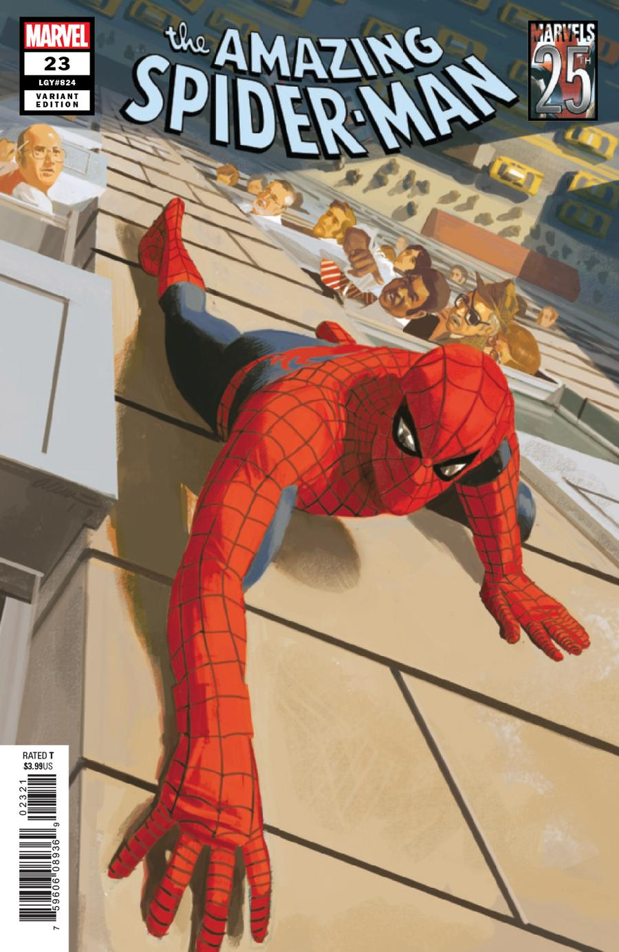 Amazing Spider-Man Vol 5 #23 Cover B Variant Daniel Acuna Marvels 25th Tribute Cover