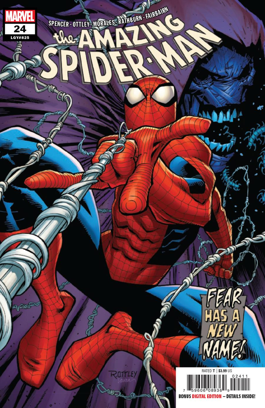 Amazing Spider-Man Vol 5 #24 Cover A Regular Ryan Ottley Cover