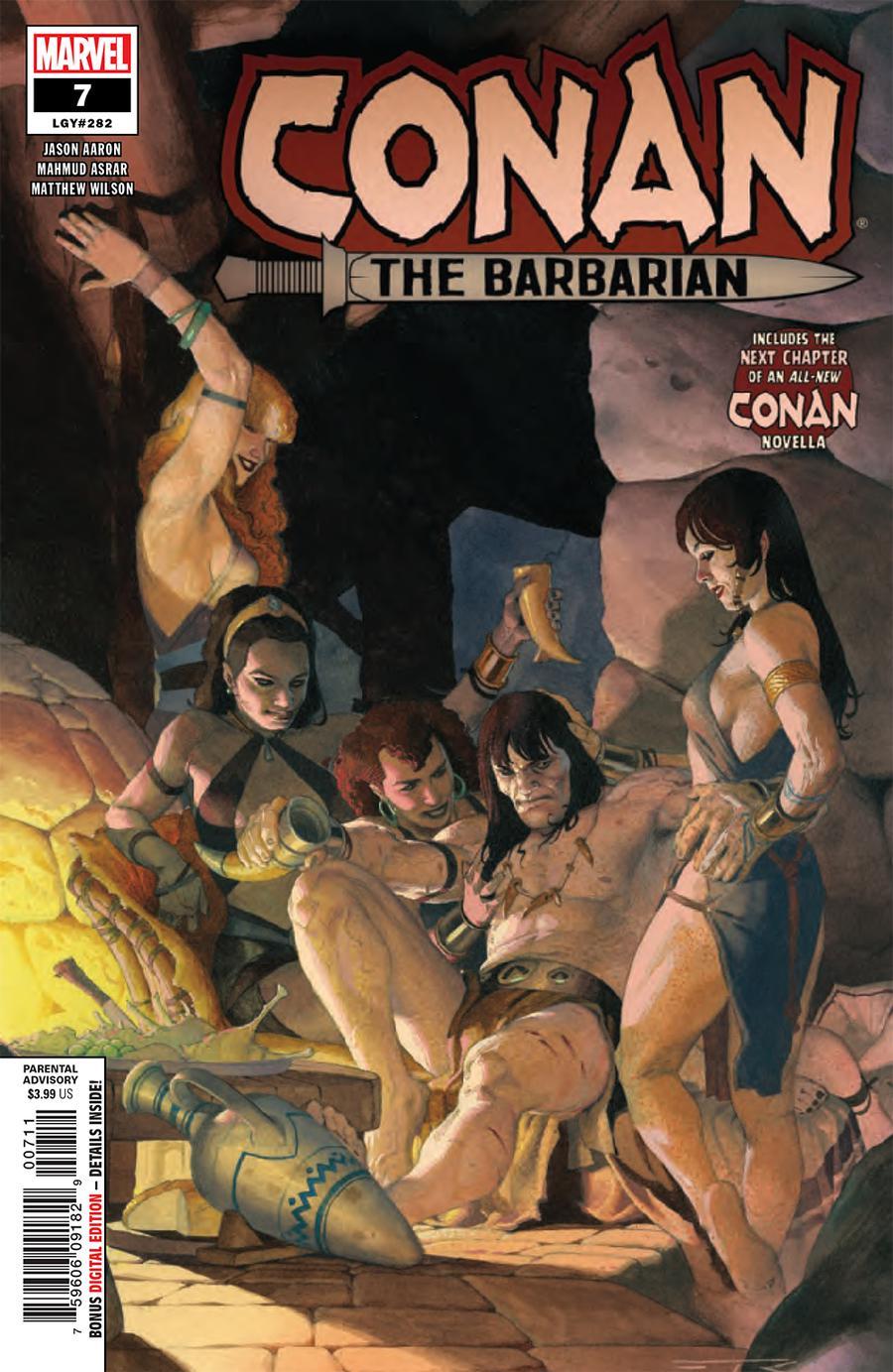 Conan The Barbarian Vol 4 #7 Cover A Regular Esad Ribic Cover