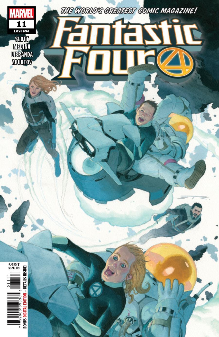 Fantastic Four Vol 6 #11 Cover A Regular Esad Ribic Cover