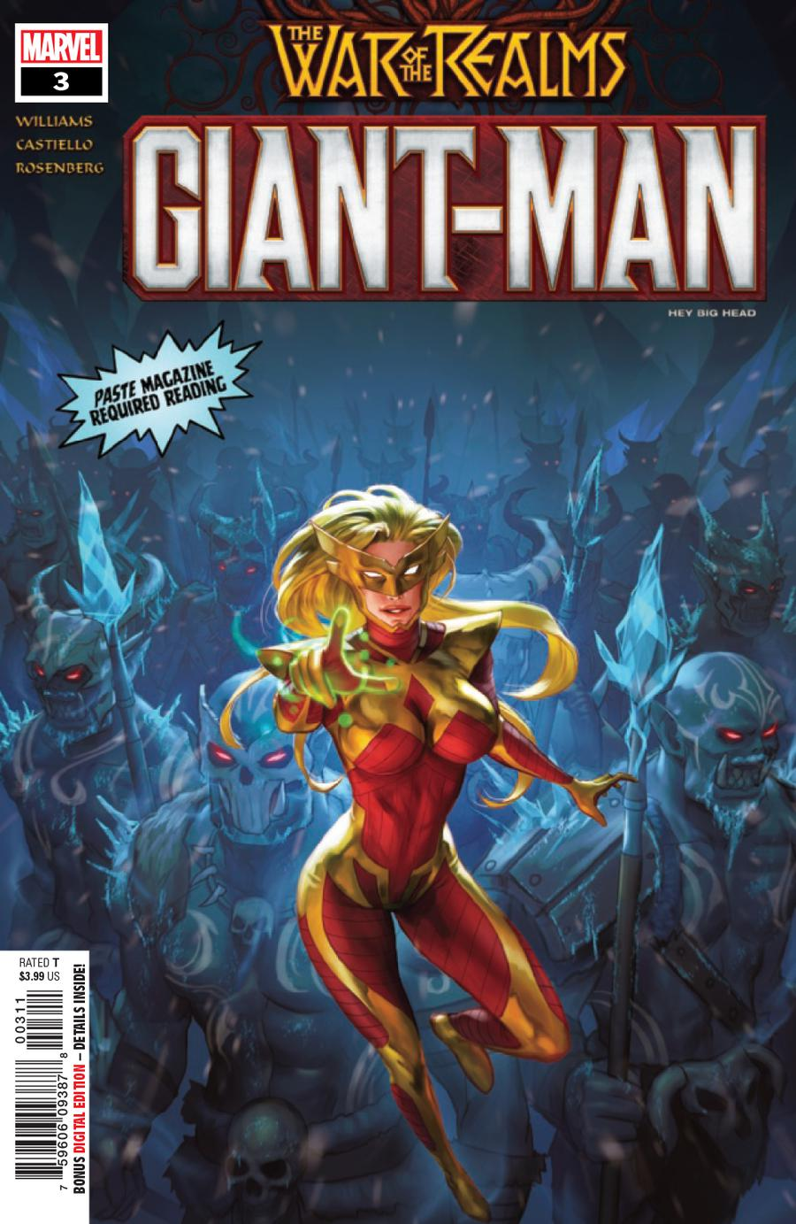 Giant-Man #3 (War Of The Realms Tie-In)