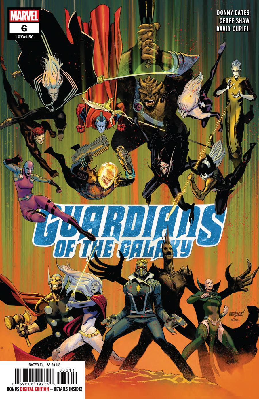 Guardians Of The Galaxy Vol 5 #6 Cover A 1st Ptg Regular David Marquez Cover
