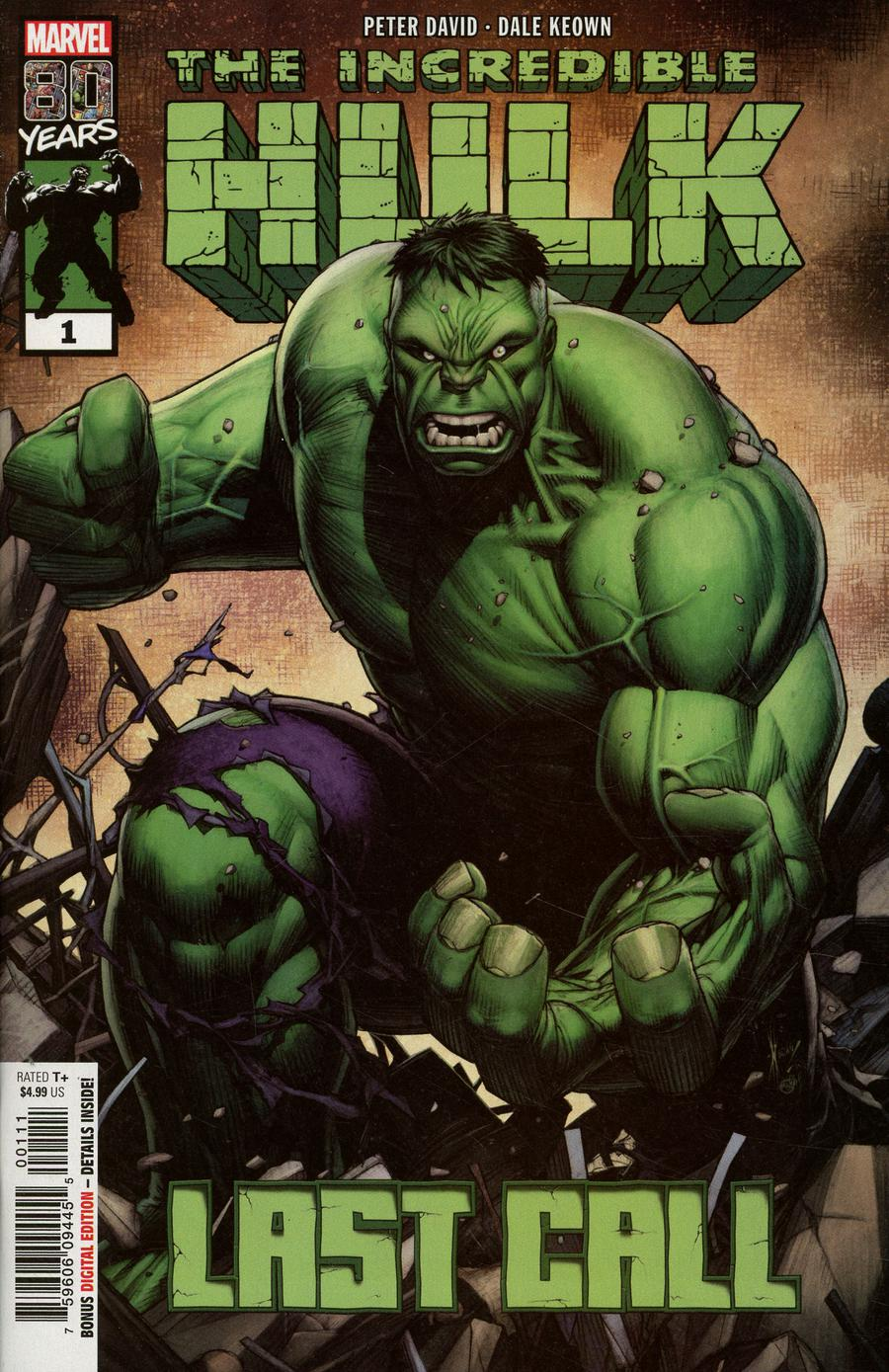 Incredible Hulk Last Call #1 Cover A 1st Ptg Regular Dale Keown Cover