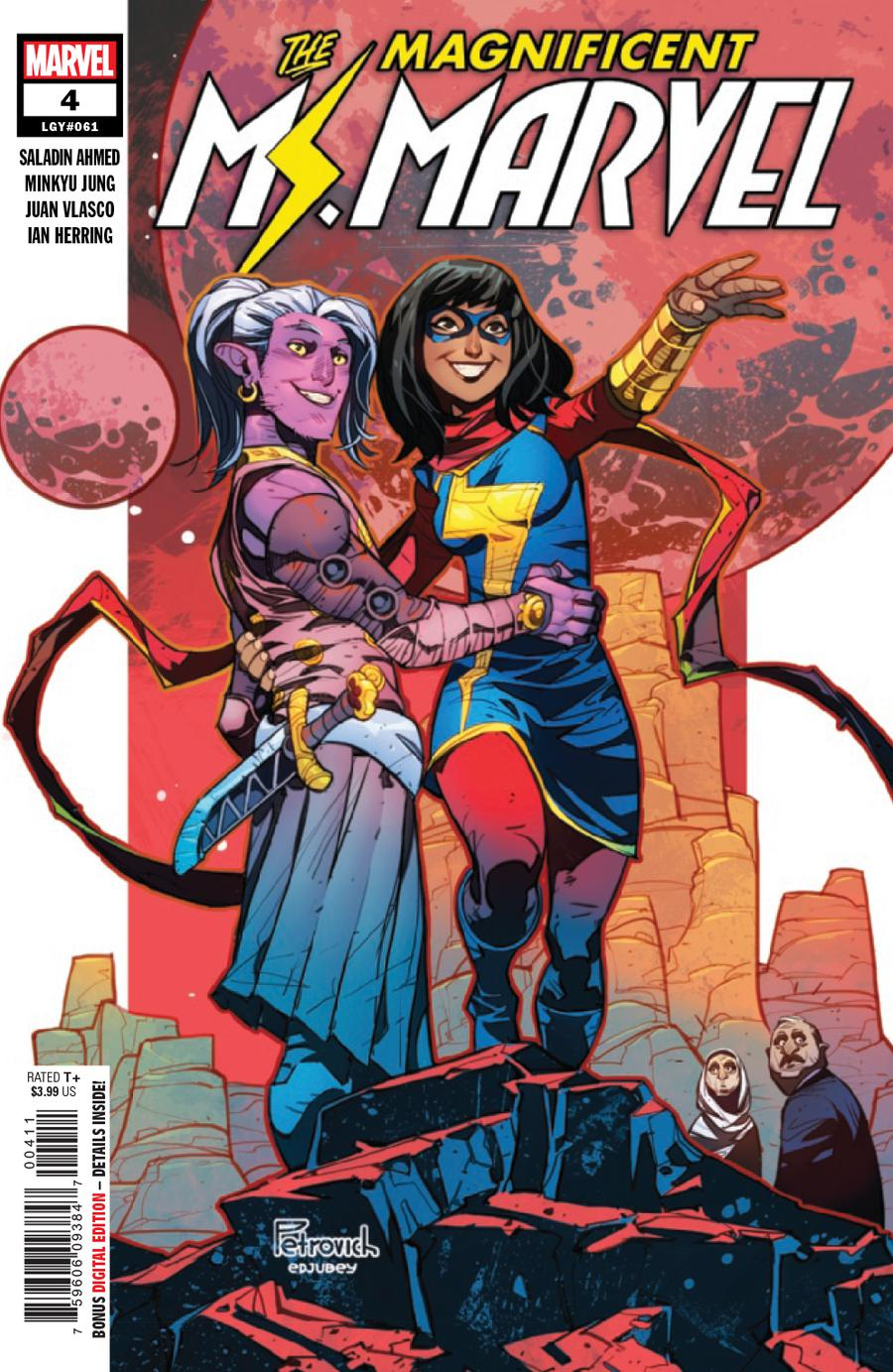 Magnificent Ms Marvel #4 Cover A Regular Eduard Petrovich Cover
