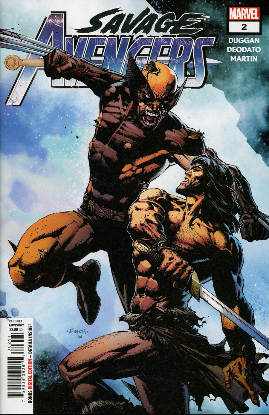 Savage Avengers #2 Cover A 1st Ptg Regular David Finch Cover