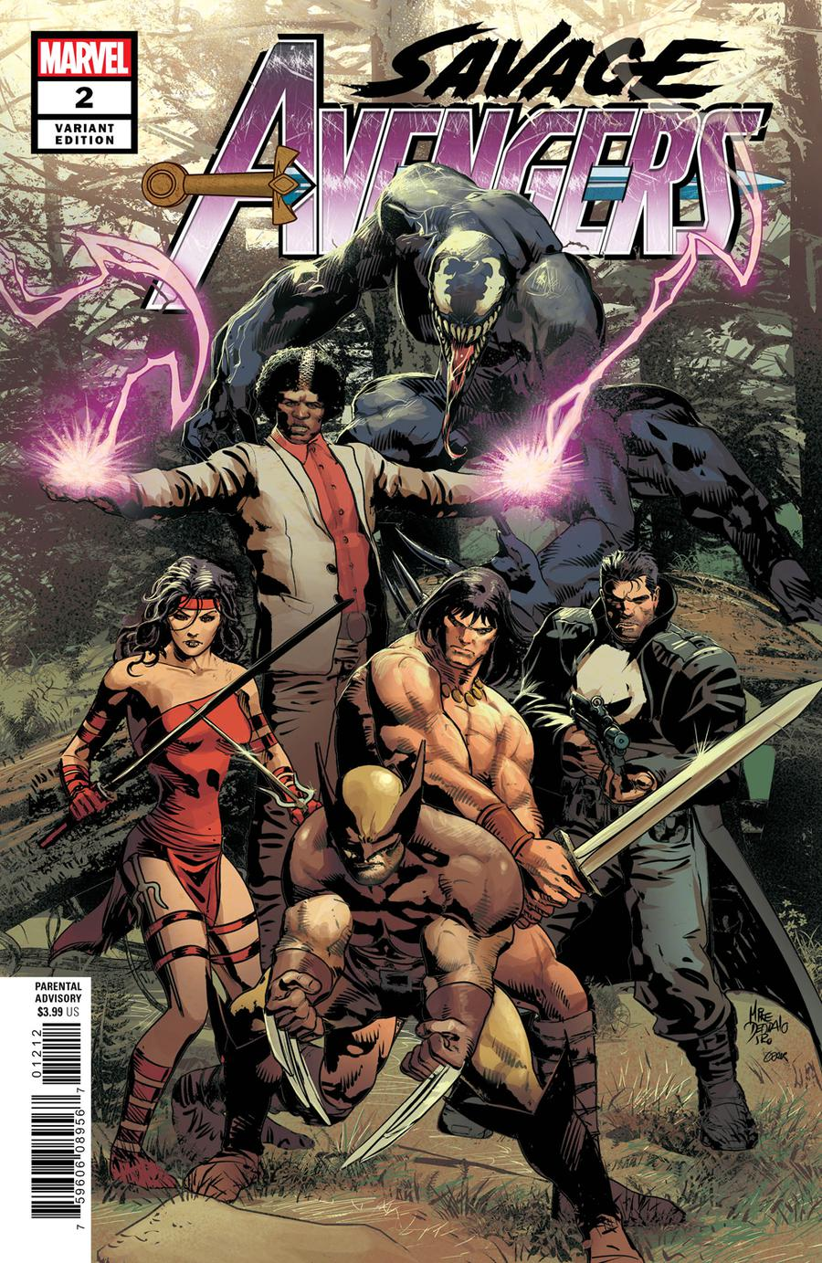 Savage Avengers #2 Cover C Variant Mike Deodato Jr Cover