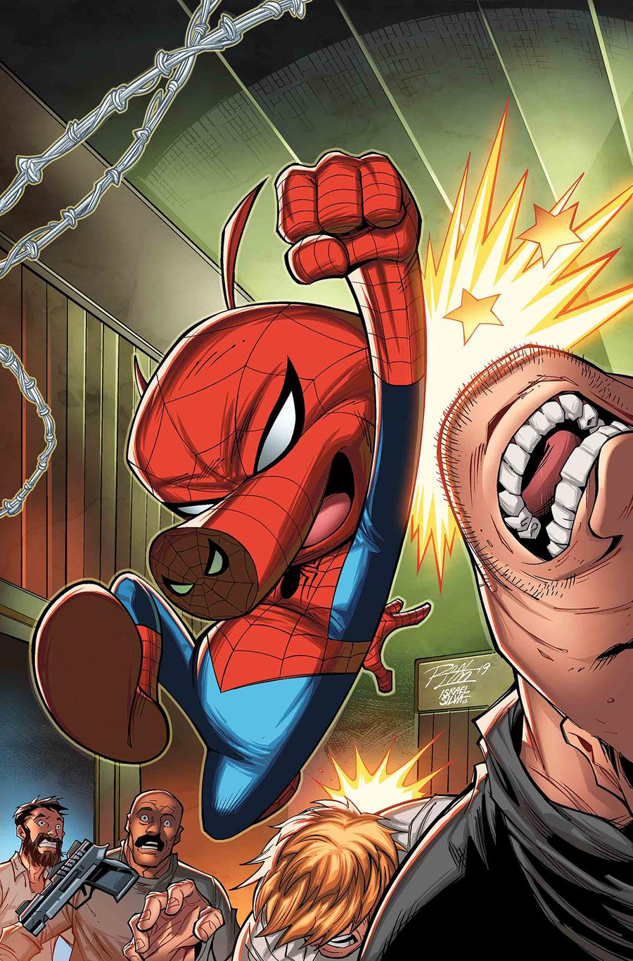 Spider-Man Featuring Spider-Ham Annual #1 Cover C Variant Ron Lim Cover