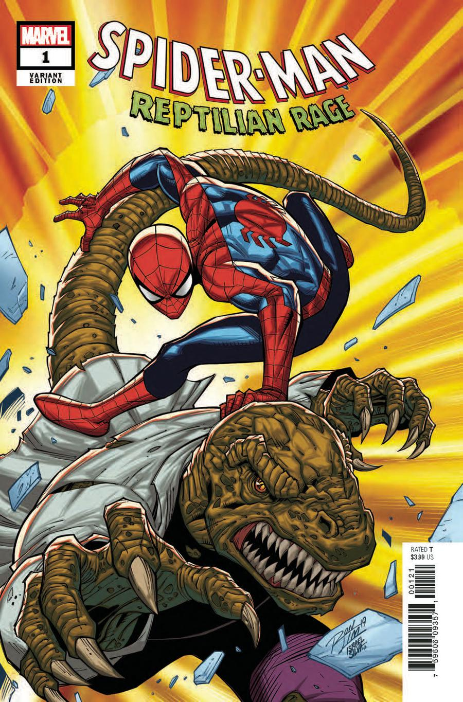 Spider-Man Reptilian Rage #1 Cover B Variant Ron Lim Cover