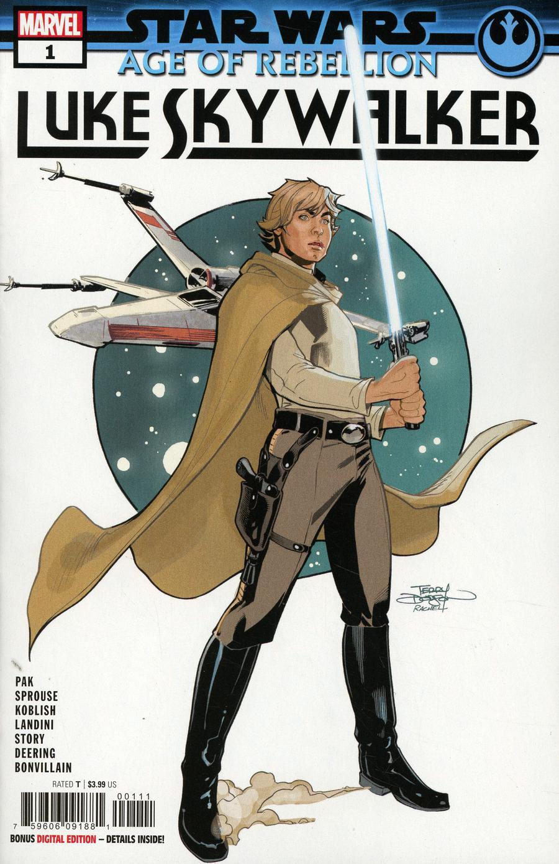 Star Wars Age Of Rebellion Luke Skywalker #1 Cover A Regular Terry Dodson & Rachel Dodson Cover