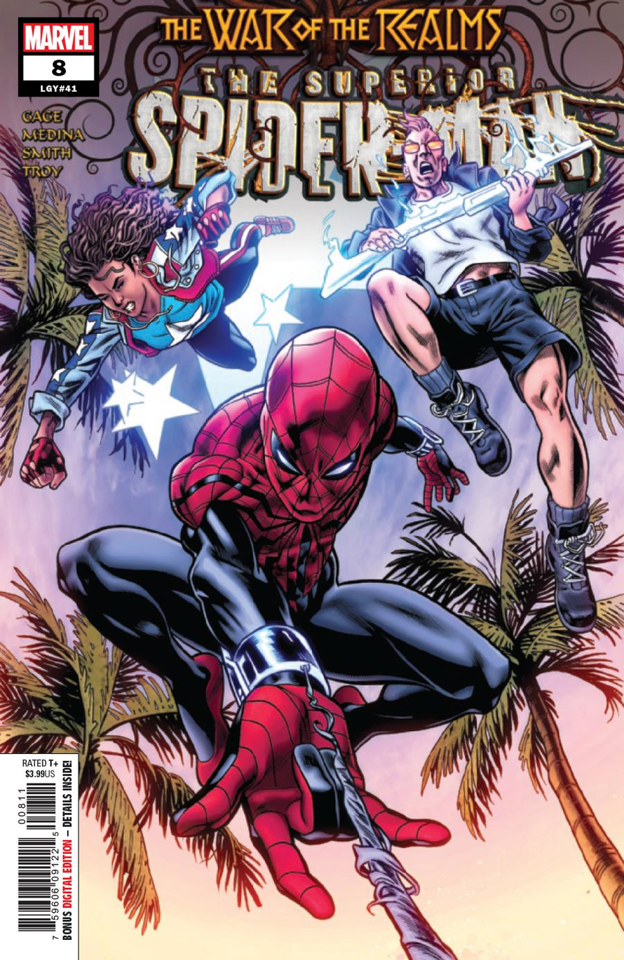 Superior Spider-Man Vol 2 #8 (War Of The Realms Tie-In)