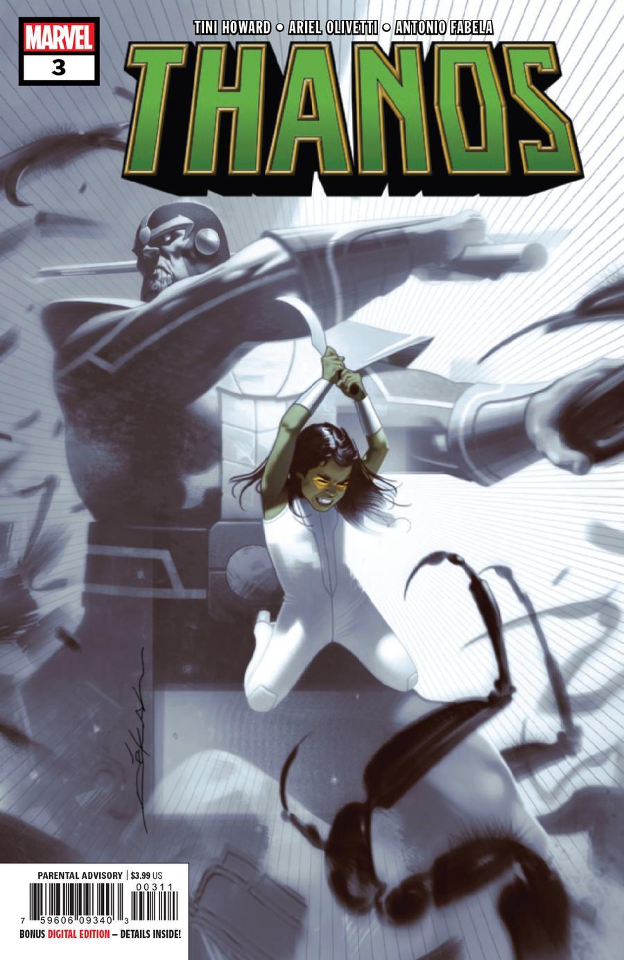 Thanos Vol 3 #3 Cover A 1st Ptg Regular Jeff Dekal Cover