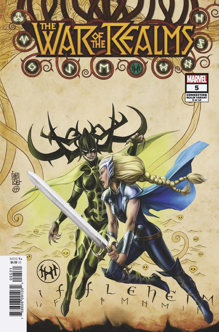 War Of The Realms #5 Cover C Variant Giuseppe Camuncoli Connecting Realm Cover