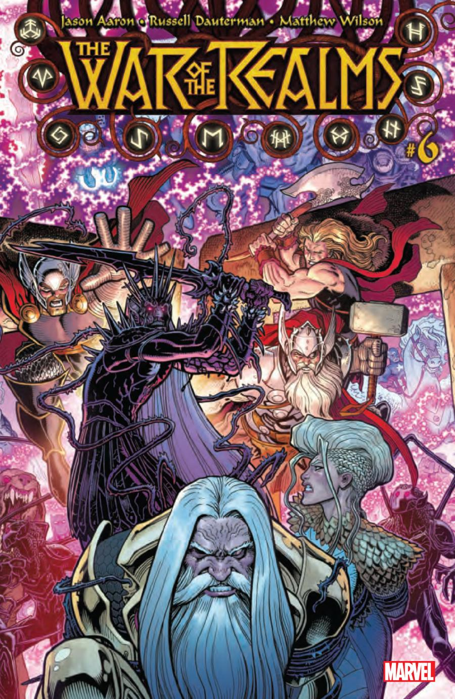 War Of The Realms #6 Cover A 1st Ptg Regular Arthur Adams Cover