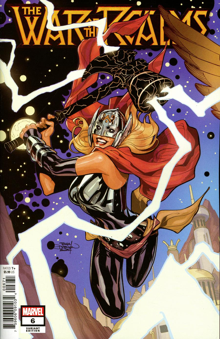 War Of The Realms #6 Cover E Variant Terry Dodson Spoiler Cover