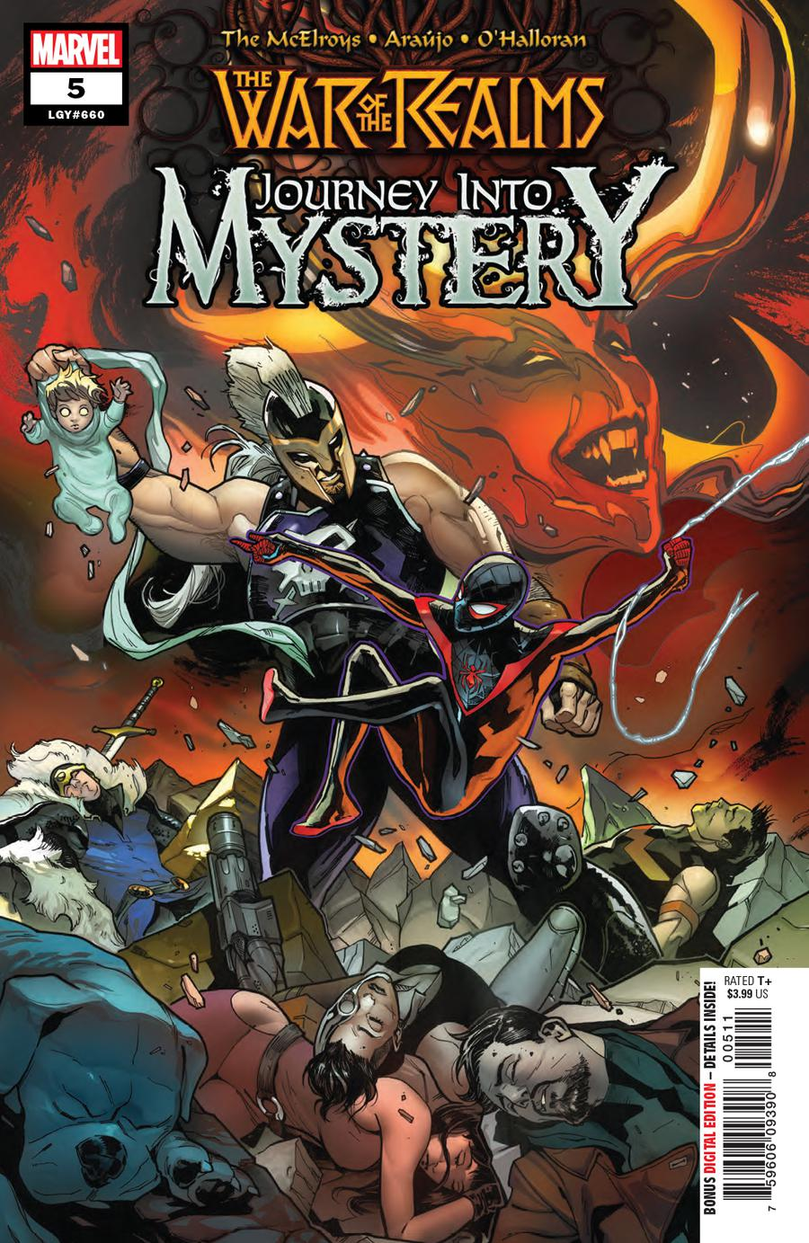 War Of The Realms Journey Into Mystery #5 Cover A Regular Valerio Schiti Cover