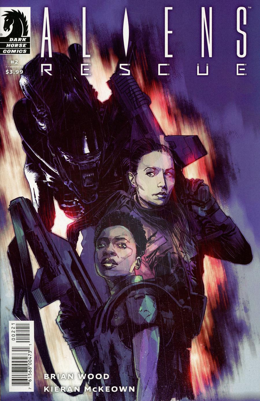 Aliens Rescue #2 Cover B Variant Mack Chater Cover