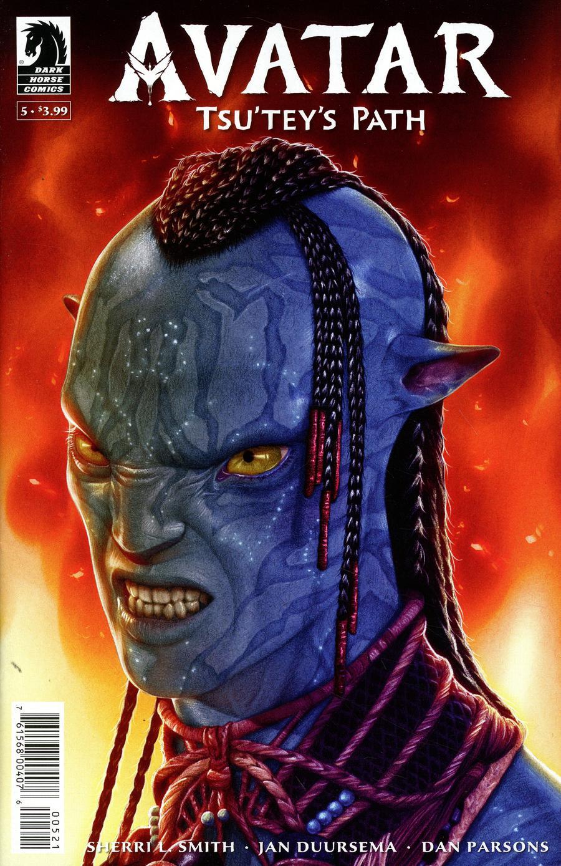 Avatar Tsuteys Path #5 Cover B Variant Shea Standefer Cover