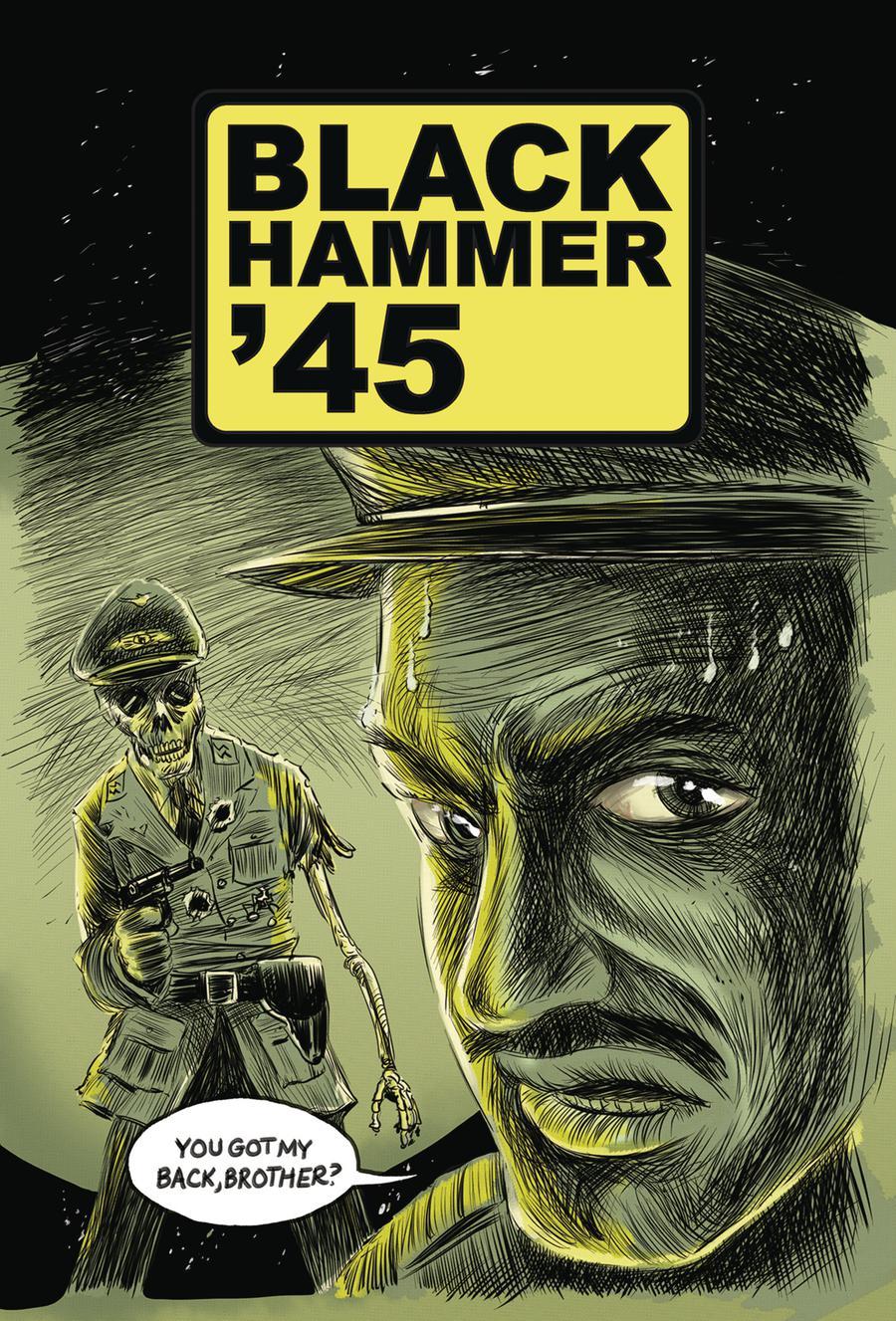 Black Hammer 45 From The World Of Black Hammer #4 Cover A Regular Matt Kindt Cover