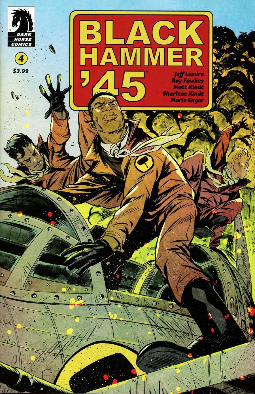 Black Hammer 45 From The World Of Black Hammer #4 Cover B Variant Sanford Greene Cover