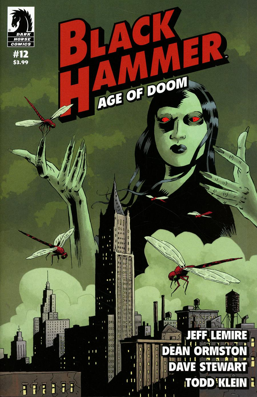 Black Hammer Age Of Doom #12 Cover A Regular Dean Ormston Cover