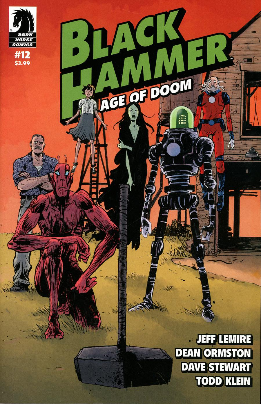Black Hammer Age Of Doom #12 Cover B Variant Paul Pope & Dave Stewart Cover