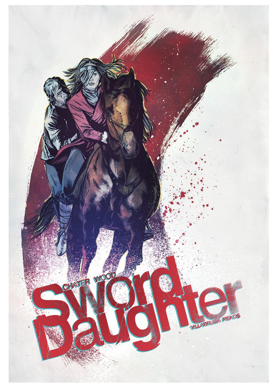 Sword Daughter #7 Cover B Variant Mack Chater Cover